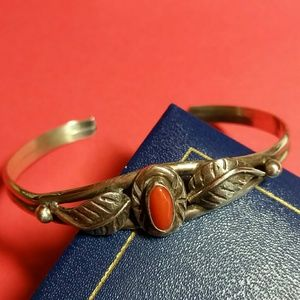 Jewelry - NATIVE AMERICAN STERLING BANGLE